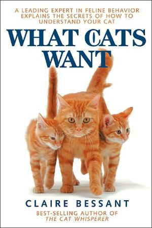 What Cats Want book written by Claire Bessant