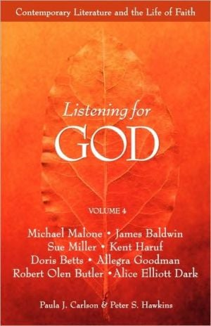 Listening For God Rdr Vol 4 book written by Paula J. Carlson