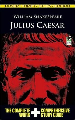 Julius Caesar (Dover Thrift Study Edition) book written by William Shakespeare