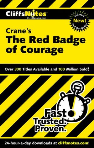 CliffsNotes The Red Badge of Courage  book written by Patrick J. Salerno
