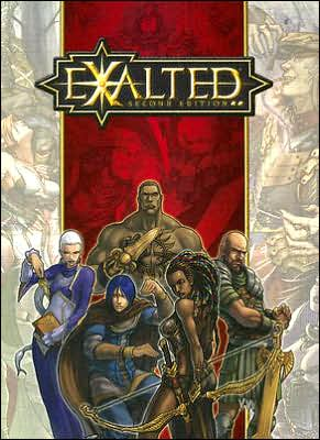 Exalted Character Pad book written by Exalted