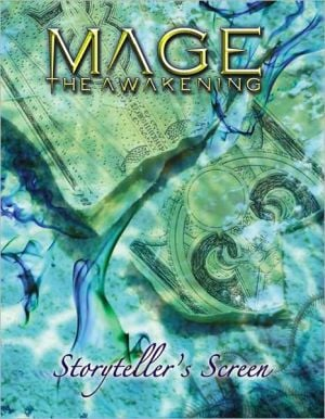 Mage the Awakening Screen book written by White Wolf Publishing Inc