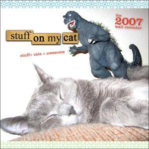 Stuff on My Cat 2007 Calendar book written by Stuffonmycat. com