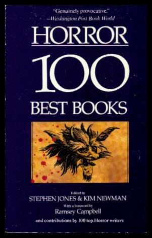 Horror book written by Stephen Jones &  Kim Newman