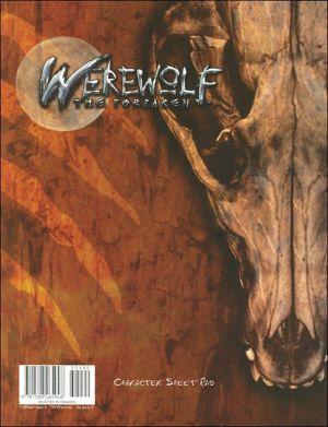 Werewolf the Forsaken: Character Sheet Pad book written by Staff of White Wolf Publishing