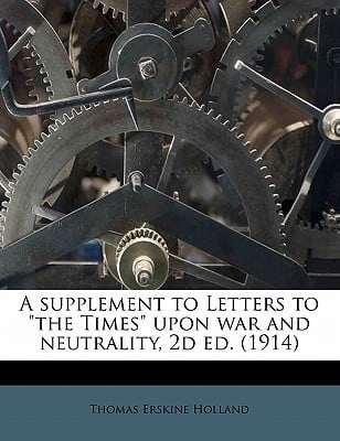 A Supplement to Letters to
