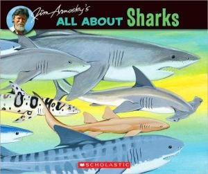 All about Sharks written by Jim Arnosky