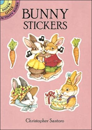Bunny Stickers book written by Christopher Santoro