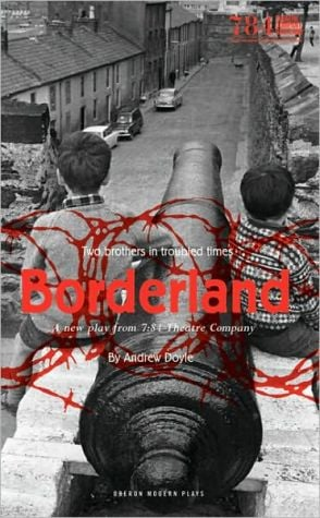 Borderland book written by Andrew Doyle