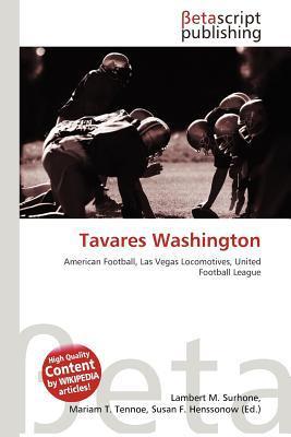 Tavares Washington written by Lambert M. Surhone