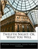 Twelfth Night book written by William Shakespeare
