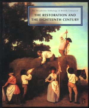 Broadview Anthology of Literature: Restoration, Vol. 3 written by Joseph Black