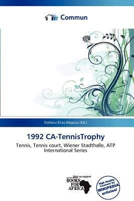 1992 CA-Tennistrophy written by Stefanu Elias Aloysius