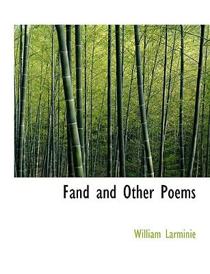 Fand and Other Poems written by Larminie, William