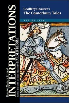 Geoffrey Chaucer's the Canterbury Tales book written by Harold Bloom