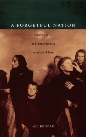 A Forgetful Nation: On Immigration and Cultural Identity in the United States book written by Ali Behdad