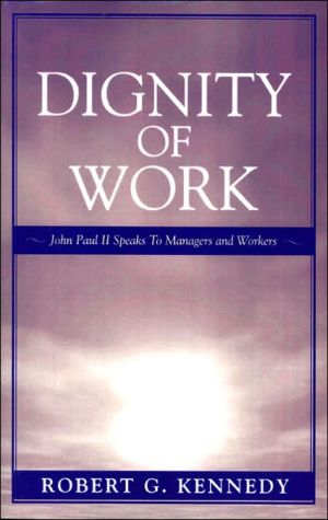 Dignity Of Work book written by John Paul Ii