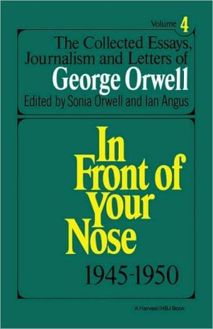 Collect Essay Orwell V4, Vol. 4 book written by Orwell