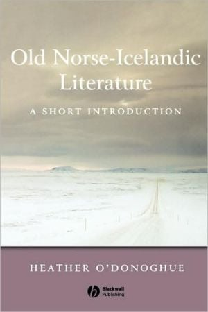 Old Norse Short Intro written by O'Donoghue