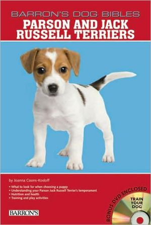 Parson and Jack Russell Terriers book written by Joanna Kosloff