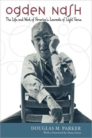 Ogden Nash book written by Douglas M. Parker