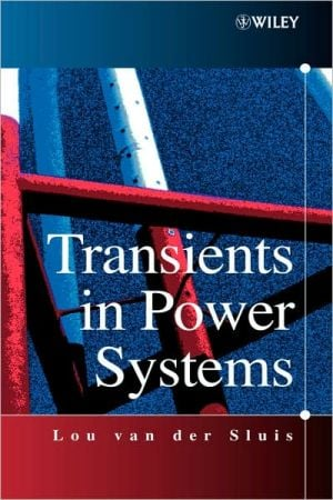Transients in Power Systems book written by Lou Van Der Sluis