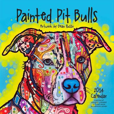 Painted Pit Bulls 2014 Calendar book written by Alfred C. Martino