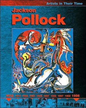Jackson Pollock book written by Clare Oliver