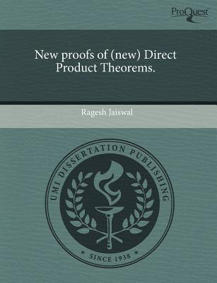 New Proofs of (New) Direct Product Theorems. written by Ragesh Jaiswal