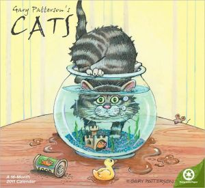 2011 Gary Patterson's Cats WL Calendar book written by Day Dream