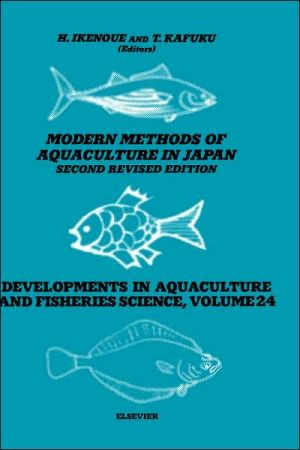 Modern Methods of Aquaculture in Japan book written by H. Ikenoue
