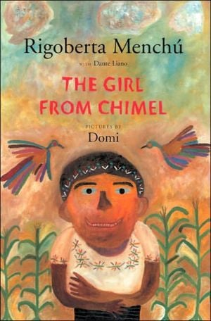 Girl from Chimel book written by Rigoberta Menchu