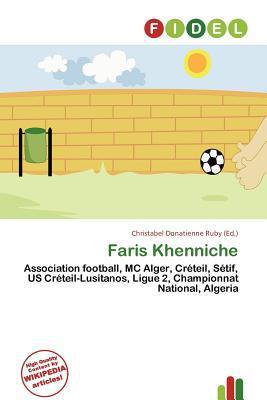 Faris Khenniche written by Christabel Donatienne Ruby