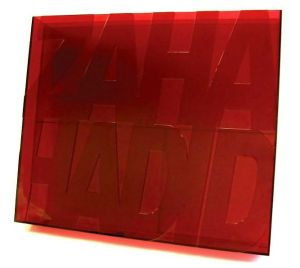 Zaha Hadid book written by Gordana Fontana Giusti