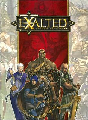 Exalted book written by Exalted