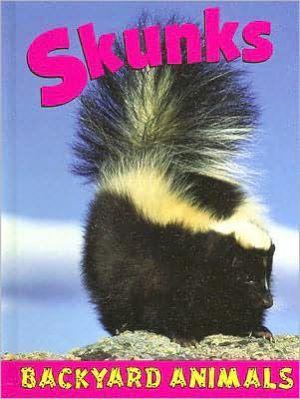 Skunks book written by Jennifer Hurtig