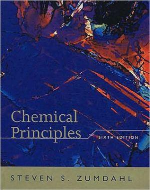 Chemical Principles written by Steven S. Zumdahl
