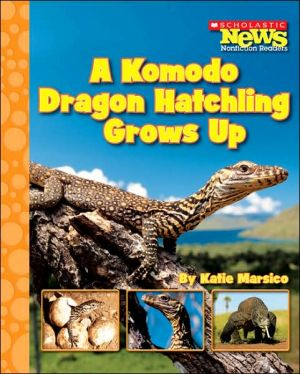 A Komodo Dragon Hatchling Grows Up written by Katie Marsico