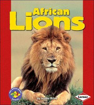 African Lions book written by Joelle Riley