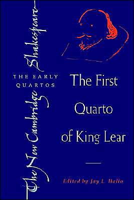 The First Quarto of King Lear book written by William Shakespeare