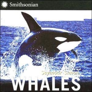 Whales book written by Seymour Simon