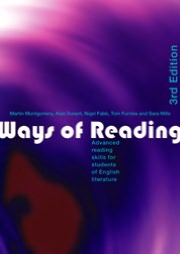 Ways of reading book written by Martin Montgomery