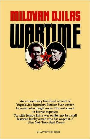 Wartime book written by Milovan Djilas