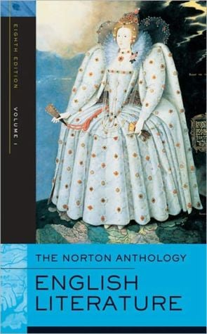 The Norton anthology of English literature book written by Alfred David