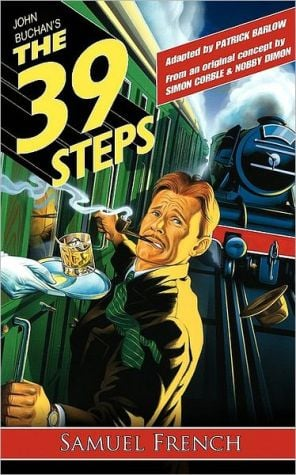 The 39 Steps book written by Patrick Barlow