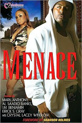 Menace book written by Shannon Holmes