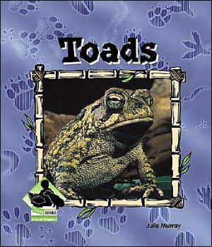 Toads book written by Julie Murray