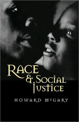 Race Social Justice book written by Mcgary