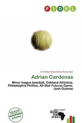 Adrian Cardenas written by Christabel Donatienne Ruby
