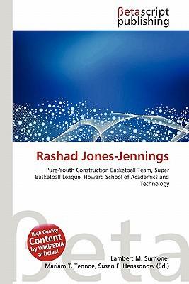 Rashad Jones-Jennings written by Lambert M. Surhone